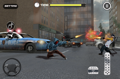 Real Gangster Revenge: Downtown Gang War Car Mafia Screenshot