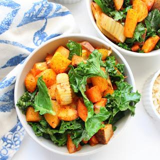 Roasted Vegetable Winter Salad.