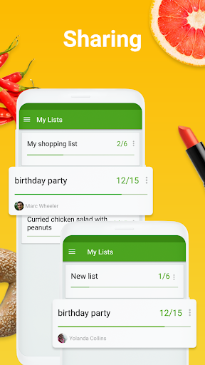 Shopping list - Listonic screenshot 3