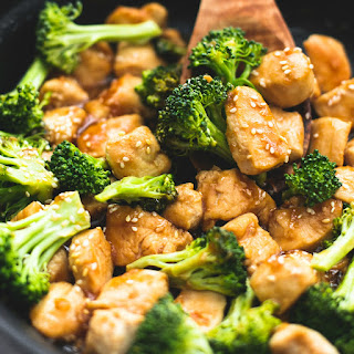 Skillet Sesame Chicken & Broccoli