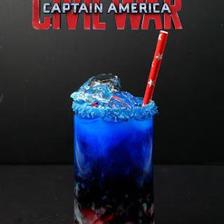 Captain America Civil War Cocktail.