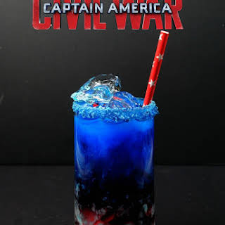 Captain America Civil War Cocktail.