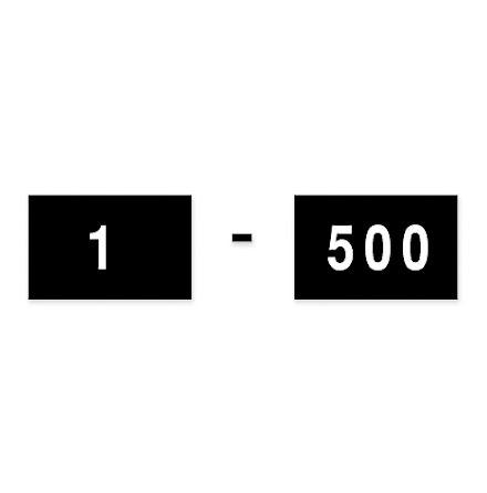 Etikett 14x9 1- 500 500/fp