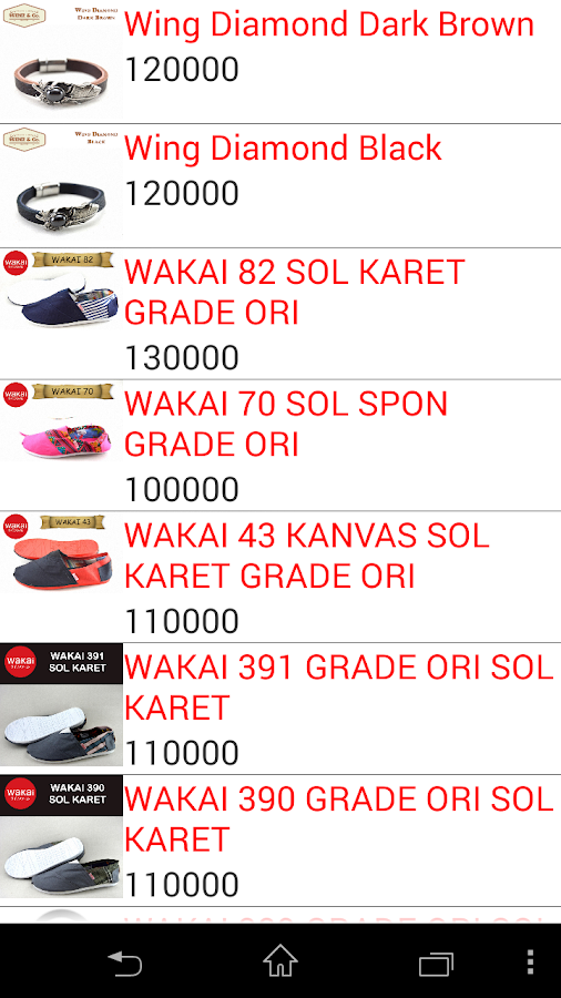 wielshoes dropship partner- screenshot