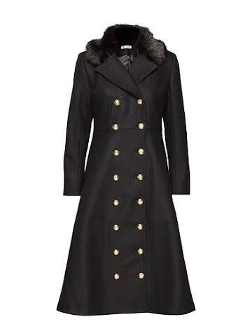 Abbey Coat, Black/Black - Ida Sjöstedt