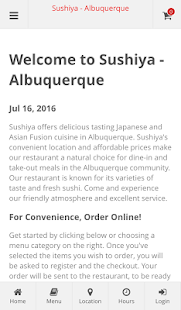 Sushiya - Albuquerque- screenshot thumbnail