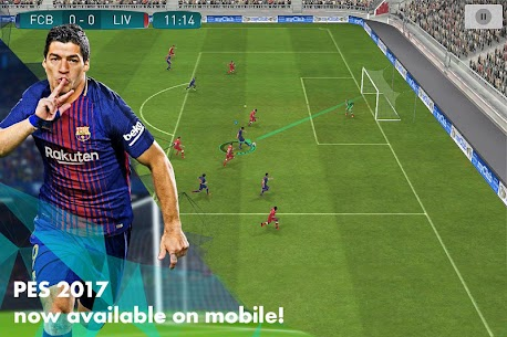 PES 2017 PRO EVOLUTION SOCCER 1.2.2 MOD (Unlimited Money) Apk + Data 1