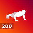 200 Push Ups - Calisthenics Bodyweight Workouts APK
