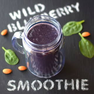 Wild Blueberry Bliss Smoothie