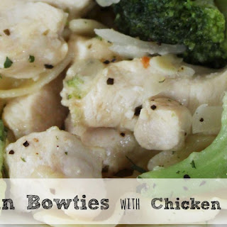 Parmesan Bowties with Chicken and Broccoli | Easy Weeknight Dinner
