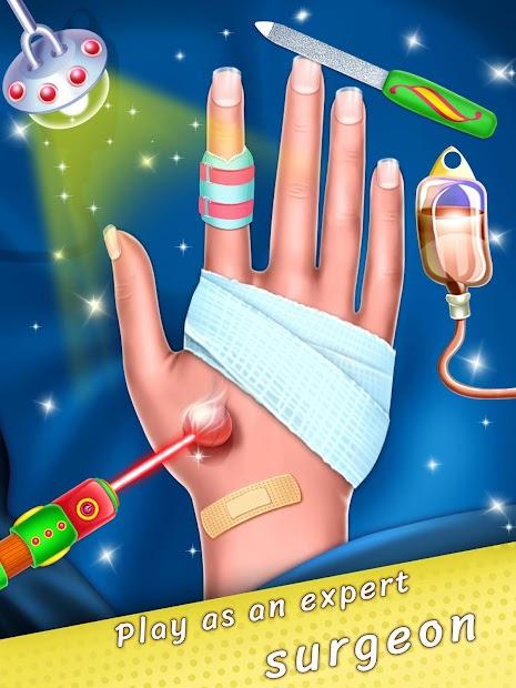 Hand Skin Doctor – Hospital Game