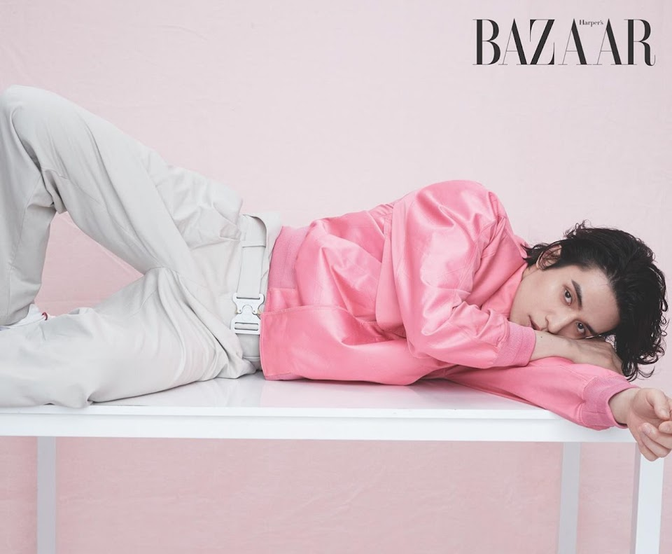 lee dong wook bazaar 2020 9