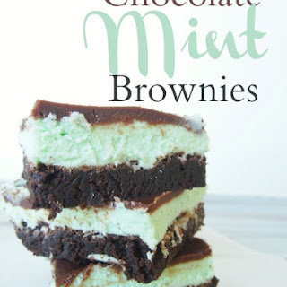 Chocolate Mint Brownies (You. Will. Die!!!)
