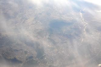 Photo: Survol de Kaboul, avant la descente sur Islamabad