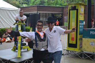 Photo: Edwin y Juan Daniel energizados