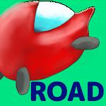 miniCar RedNose Road Free Icon