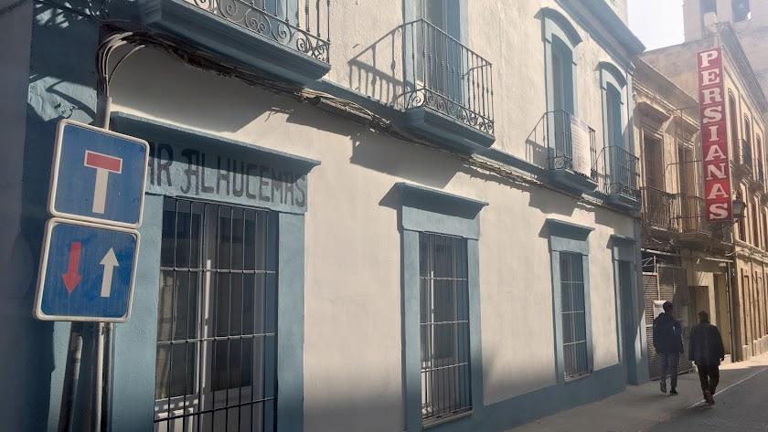 Vivienda antigua en la calle Hernán Cortés, que se convertirá en apartamentos turísticos.