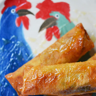 Cajun Shrimp Egg Rolls – #FishFridayFoodies