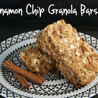 Cinnamon Chip Granola Bars