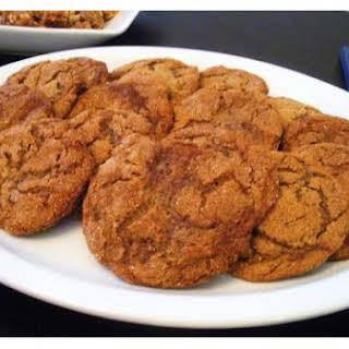 Molasses Pepper Cookies.