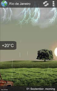 Animated Weather Widget&Clock v6.7.0