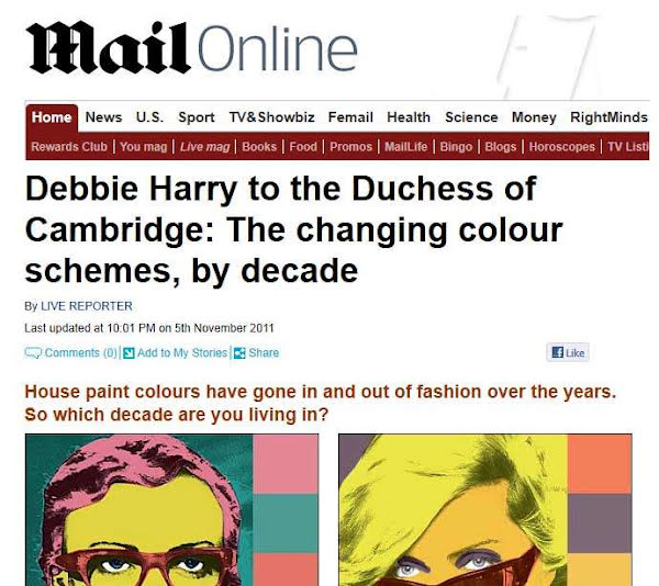 In the Press: Mail Online interview Park Grove Director on colour trends