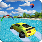 Water Surfer Car Floating Race icon