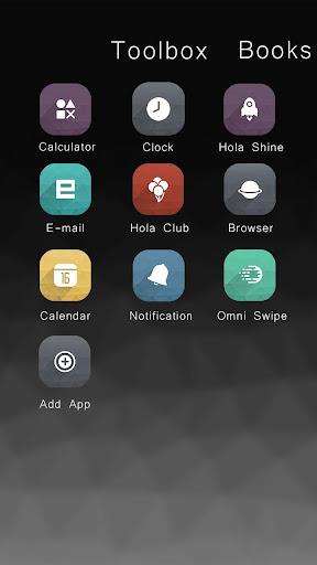 Grey  Hola Launcher テーマ|玩個人化App免費|玩APPs