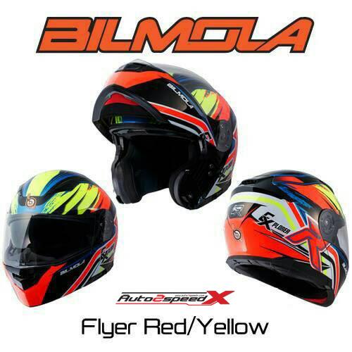 หมวกกันน็อค BILMOLA Explorer FLYER 2016 ยกคาง แว่นชั้นใน
