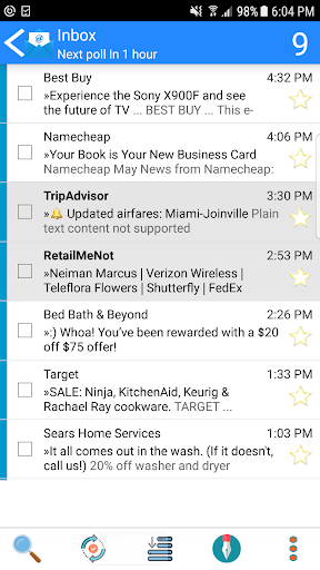Email App for Android - MailTrust 57.7 screenshots 1