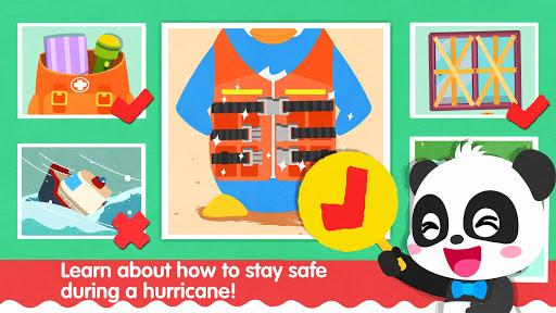 Little Panda's Weather: Hurricane apkpoly screenshots 5