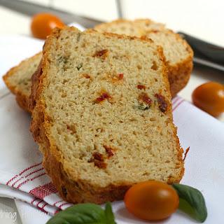 Sun Dried Tomato Parmesan Quick Bread