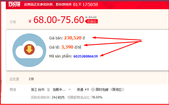 Công cụ đặt hàng - Nguonhangtrung.com