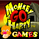 Monkey GO Happy - TOP 44 Puzzle Escape Games FREE - Androidアプリ