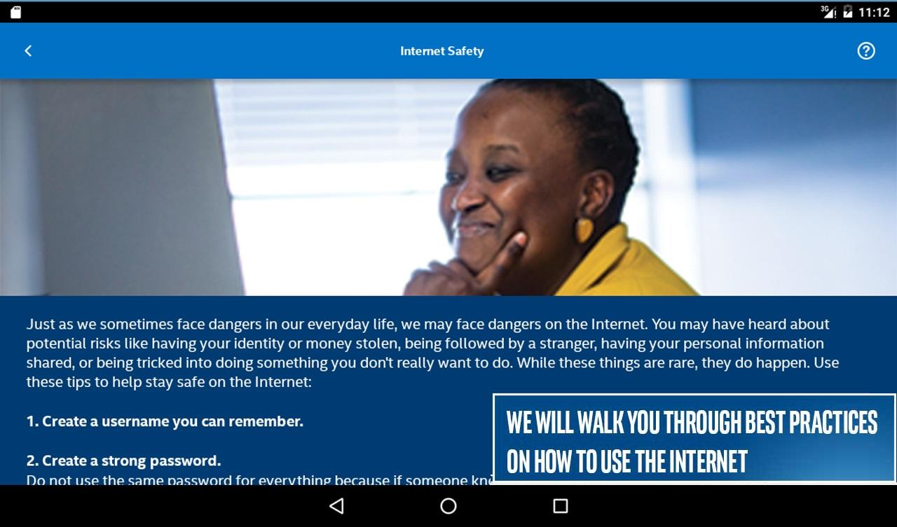 Intel® She Will Connect- screenshot