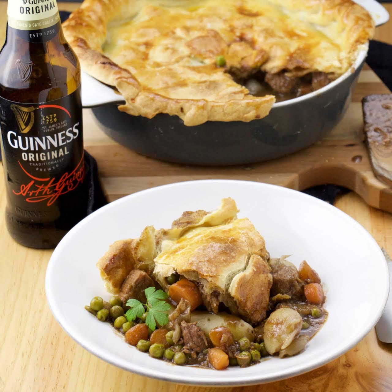 Guinness Meat Pie