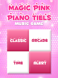 Magic with Pink Piano Tiles : Music Tiles Screenshot