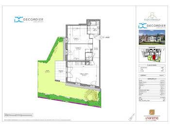 Appartement 3 pièces 63,19 m2