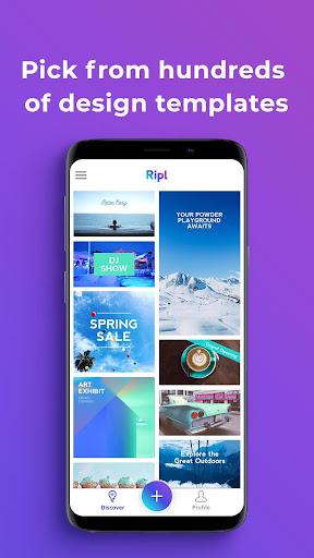 Ripl: Easily Create Social Posts in Minutes 4.0.109 screenshots 2