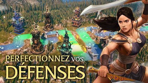Olympus Rising: Hero Defense & Jeu de stratégie fond d'écran 1