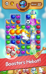 play Fruits Mania with BBM on pc & mac