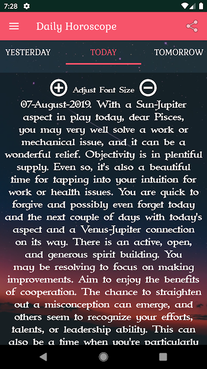Pisces Horoscope – (Android Applications) — AppAgg