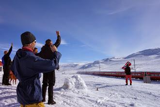Photo: Tradisjonsrik vinking til bergenstoget