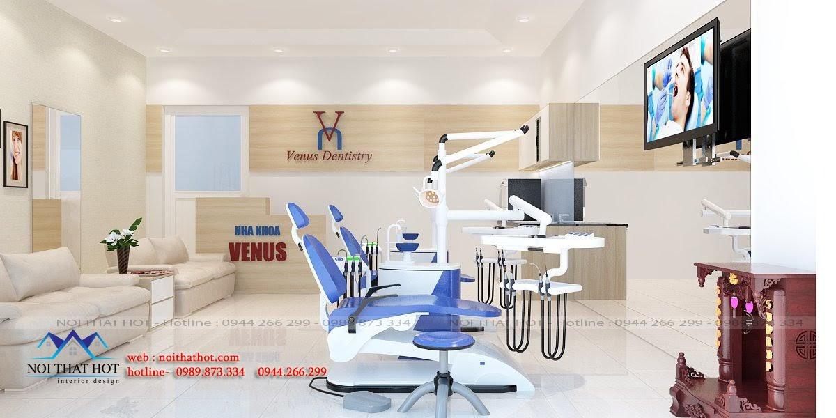 thiết kế phòng khám nha khoa tại hà nội