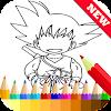 Coloring Book for Super Saiyan