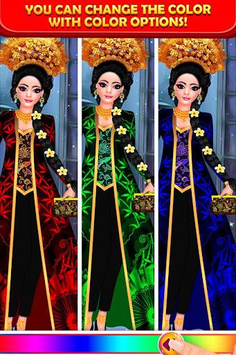 Indonesian Doll Fashion Salon Dress up & Makeover 2.0 screenshots 5