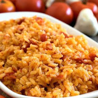 Portuguese Tomato Rice (Arroz de Tomate).