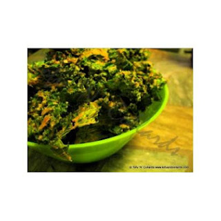 """Cheezy"" Kale Chips"
