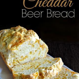 Easy Cheddar Beer Bread.