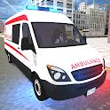 American Ambulance Emergency Simulator 2021 icon